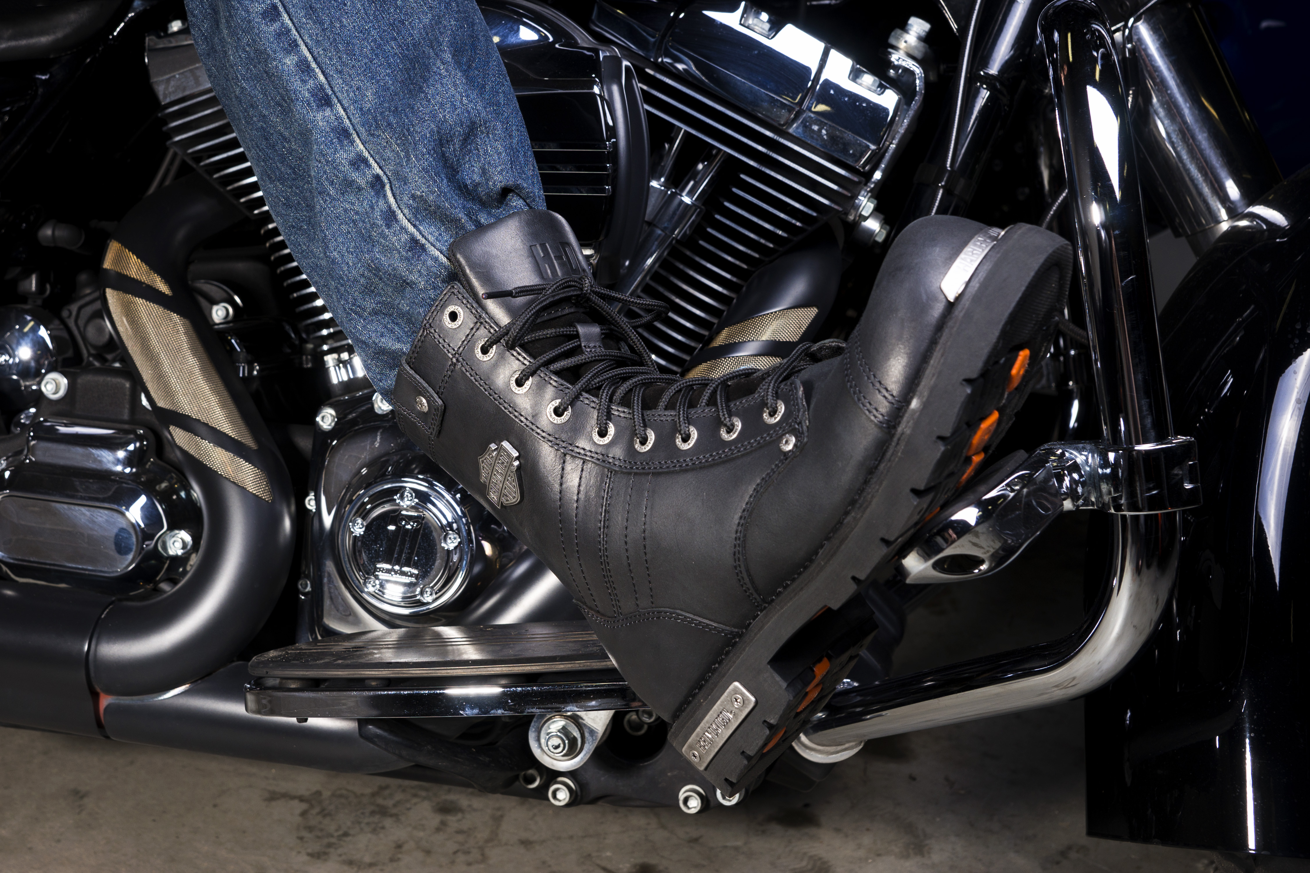 Boots at Wisconsin Harley-Davidson