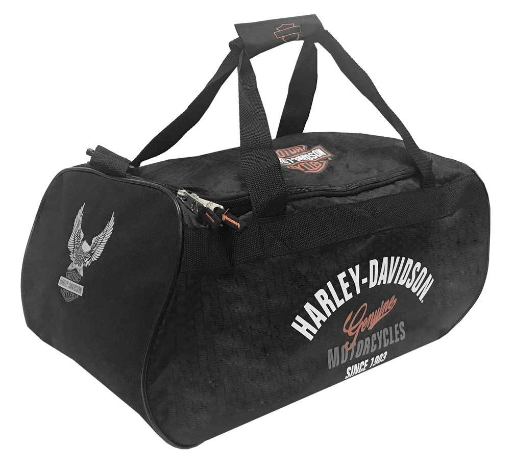 Harley-Davidson® Tail Of The Dragon Collection Sports Duffel Bag w/ Strap 99418